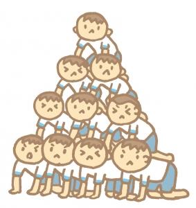 組体操 ピラミッド