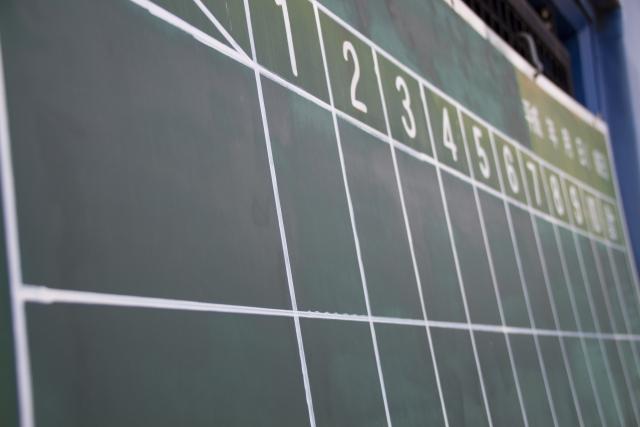 野球の得点版