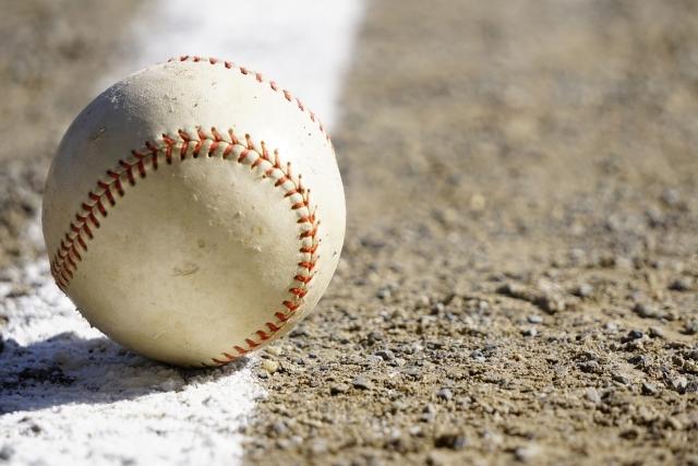 部活で使う野球ボール
