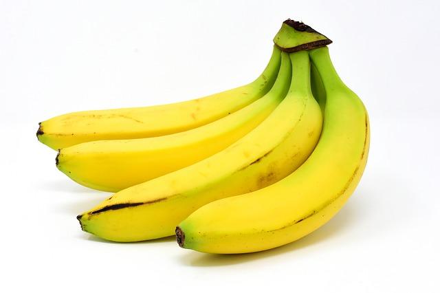 差し入れのバナナ